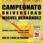 Campeonato UMH 2014.