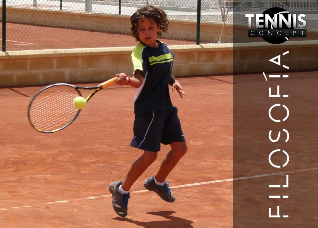 Filosofía Tennis Concept